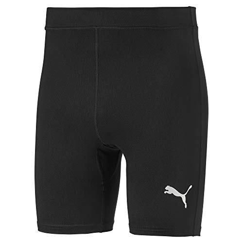 Puma Herren Liga Baselayer Short Tight Kurze Hose, Black, L
