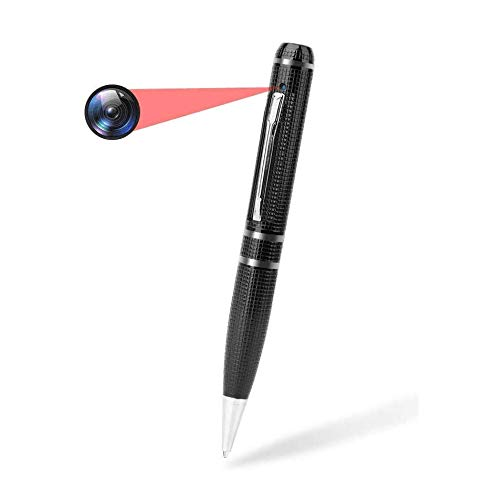 Spy Camera Pen Recorder,1080P Feipule Recording Pen Camera,Hidden Video Pen Cam with 16GB Memory,Mini Pen Camcorder with Photo Taking and Ink Refills, Video Pen Camera for Business and Conference