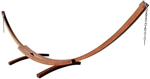 ASS 410cm XXL Hängemattengestell Gestell aus Holz Lärche ohne Hängematte
