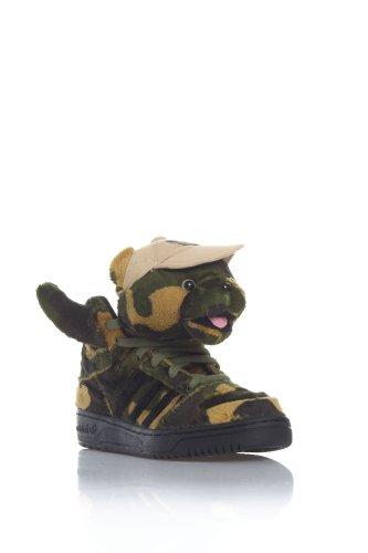 Adidas Unisex Shoes Jeremy Scott JS CAMO BEAR Modell : Q20917, Größe:39 1/3
