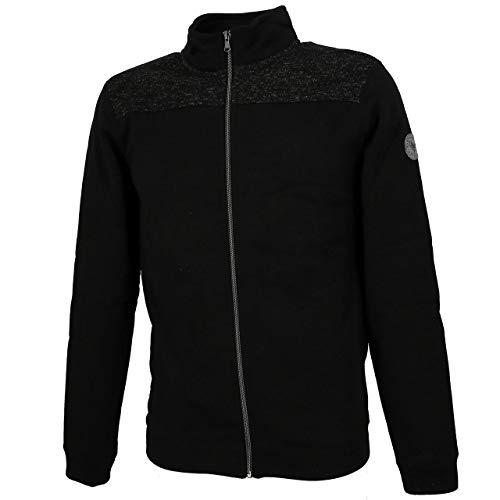 Sun Valley - Amalan Black/grc fz Sweat - Gilets Vestes Mailles - Noir - Taille L