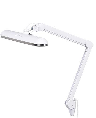 Northpoint Northpoint LED Profi Arbeitsleuchte Arbeitslampe Wandhalterung Farbtemperatur einstellbar Werkstattlampe Kosmetik Tischhalterung Dimmbar