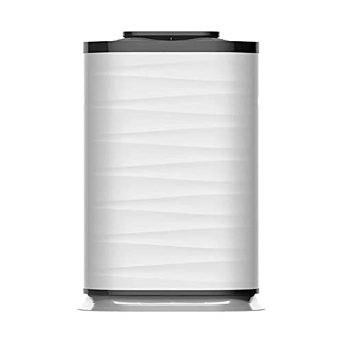 True HEPA Filter Air Purifier, Filters Allergies, Pollen, Smoke, Dust Pet Dander, Mold Odors, 5-in-1 Smart Wi-Fi Purifier for Babies and Pregnant Women