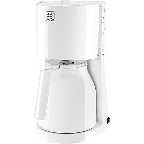 Melitta Enjoy Ii Therm Filter Coffee Machine, White by Melitta