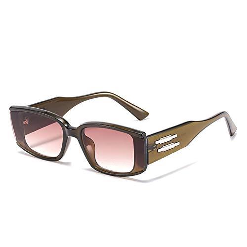 Gafas de sol cuadradas PERSONALIDAD NET RED STREUNTE DE TUSGO DE TIREDIOS DE VIAJE DE VIAJE AL AIRE DE VIAJE (Color : C)