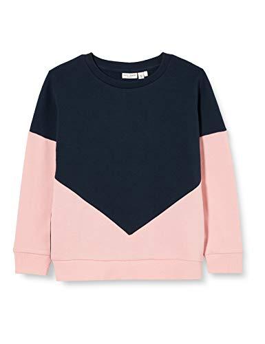 NAME IT Mädchen NKFVIOLETTA LS SWE UNB L Sweatshirt, Coral Blush, 146-152
