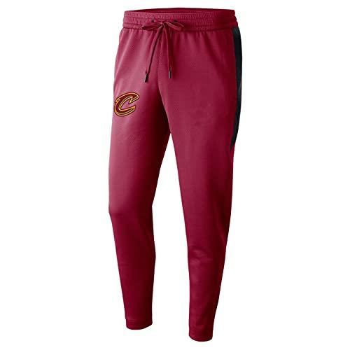JZEL Cavaliers Pantalones Deportivos Pantalones de Entrenamiento Casual Hombre Pantalones de Baloncesto de Gran tamaño de Gran tamaño Correr Pantalones de Fitness Red-M