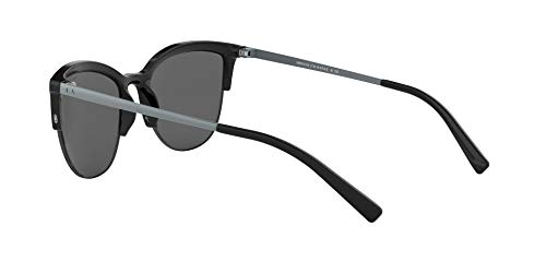 [category] AX Armani Exchange Women's Ax4083s Round Sunglasses