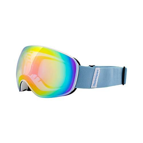 Retrospec G4 Youth Ski & Snowboard Goggles for Girls & Boys