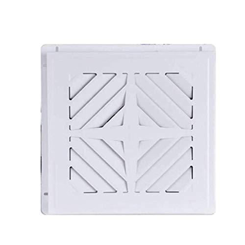 STRAW Ventilador de ventilación, Flujo de Aire silencioso, Duradero, fácil de Instalar, Código Cumple, Blanca