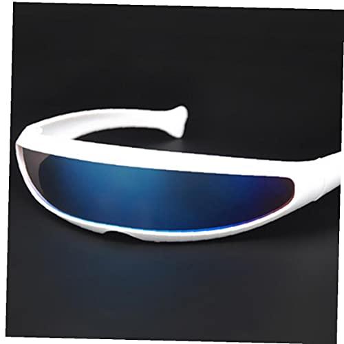 Limitar Cyclops gafas de sol UV400 de la personalidad Lente reflejada Traje Gafas Partido de la novedad de los vidrios de la decoración preciosa