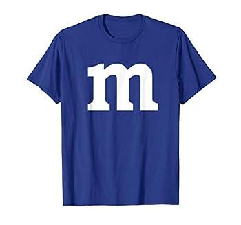 Letter M T-shirt Lower Case m Alphabet T-Shirt