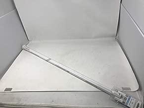 East Coast Dyes Lacrosse Shaft Carbon 40-inch Goalie White ECD Lacrosse CARB-SHFT-40-Wht-1P