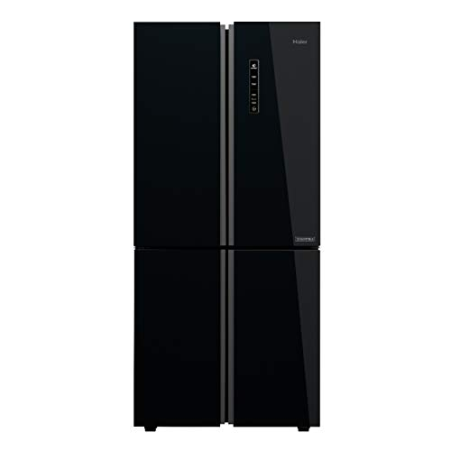 Haier 531 L Inverter Frost-Free Side-by-Side Refrigerator (HRB-550KG, Black,Convertible)