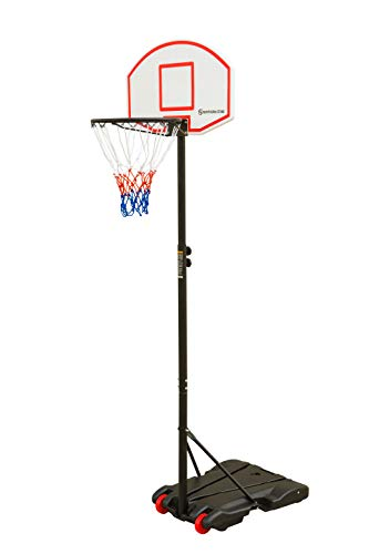 Northern Stone Junior Height Adjustable Basketball Hoop, Free Standing Portable Basketball Stand for Kids