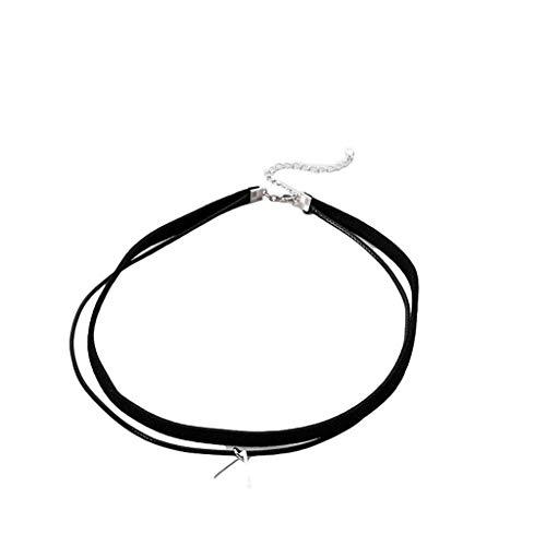 Collar colgante de protección de moda para las mujeres accesorios de moda decoración joyería collar para regalo de novia