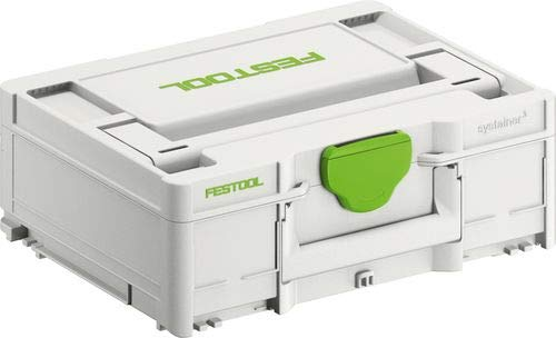 Festool 204841 Systainer T-LOC SYS-3 M 137 396 x 296 x 137 mm, Farbe, Size