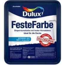 2x Dulux Original Feste Farbe 2,5 L + hochwertiger 9mm Microfaser Farbroller extra für feste Farbe