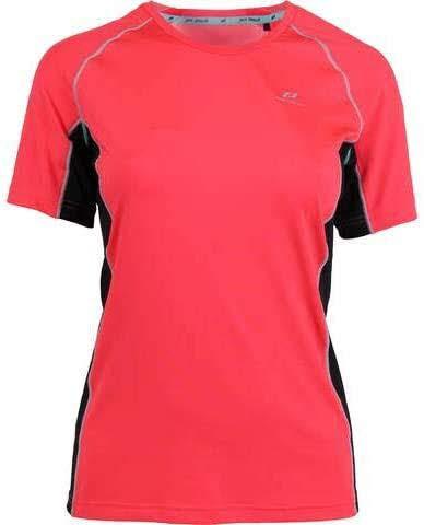 Pro Touch Gaisa Femme T-Shirt, Rouge Foncé/Noir/Tu, FR : M (Taille Fabricant : 42)