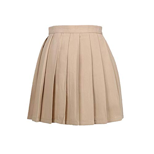 La mujer Falda de las Señoras Plisado de Talle Alto Falda Mujer Harajuku Ropa para las Mujeres Casual