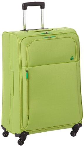 Benetton Maleta con Ruedas - Verde- 90 L