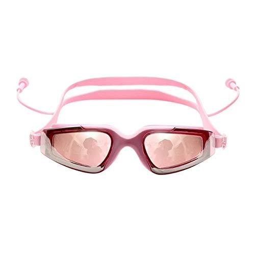 RTOLK Gafas De Natación Gafas Antivaho UV Buceo Tapones