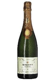 Tresor Brut Blanc Saumur AOC Bouvet Ladubay, trockener Cremant von der Loire