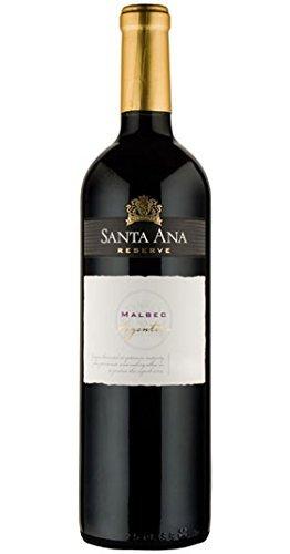 Reserve Malbec, Bodegas Santa Ana, 75cl. (caja de 6). Mendoza/Argentina. Malbec. Vino Tinto.