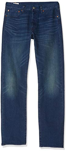 Levi's Herren 501 Original Fit Jeans, Blau (Boared Tnl 2948), 42W / 34L