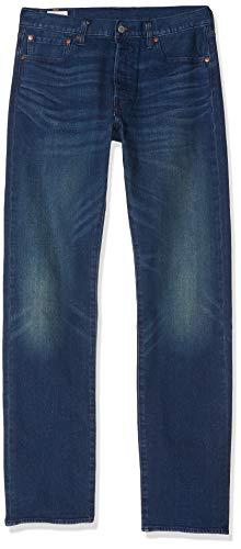 Levi's 501 Original Fit Jeans Pantalón Vaquero con diseño clásico y cómodos de Usar, Azul (Boared Tnl 2948), 32W/32L para Hombre