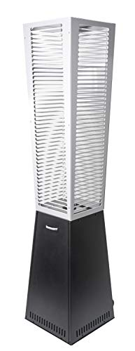 ACTIVA Chauffage de terrasse à gaz pyramide Tower 220 cm - Parasol chauffant