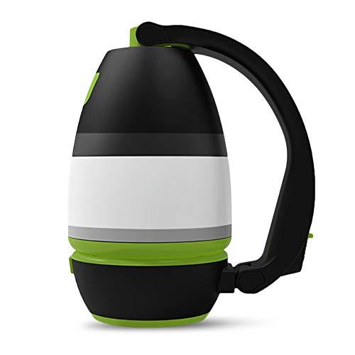 Lixada Linterna de Camping Recargable USB Multifuncional Linterna Portátil Luz LED Impermeable Luz de Carpa Linterna Potente Antorcha Super Brillante