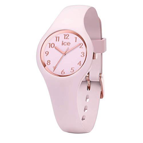 Ice-Watch - ICE glam pastel Pink lady - Rosa Damenuhr mit Silikonarmband - 015346 (Extra small)