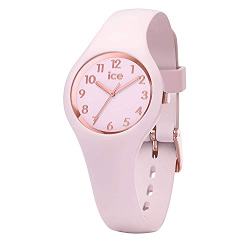 Ice-Watch - ICE glam pastel Pink lady - Women's wristwatch with silicon strap - 015346 (Extra small)