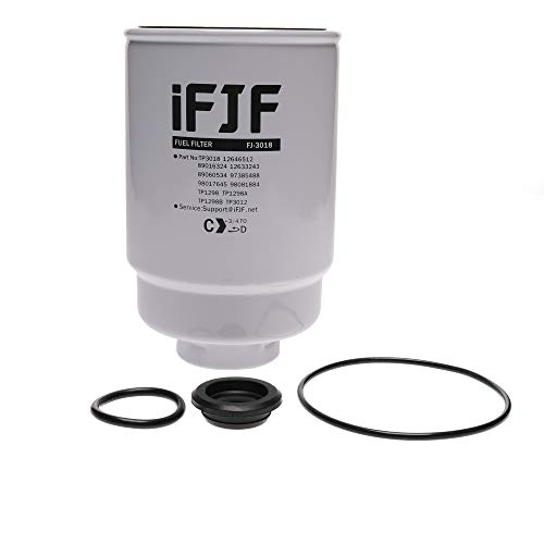 iFJF TP3018 Fuel Filter for Duramax 6.6L 2004-2013 Chevrolet Silverado/GMC Sierra Engine Chevy TP3012 19305685 12664429 12633243