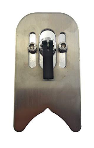 PRODIAMANT Anbohrhilfe mit Saugnapf zum sicheren Anbohren auf glattem Untergrund - Anbohrlehre 5-40mm