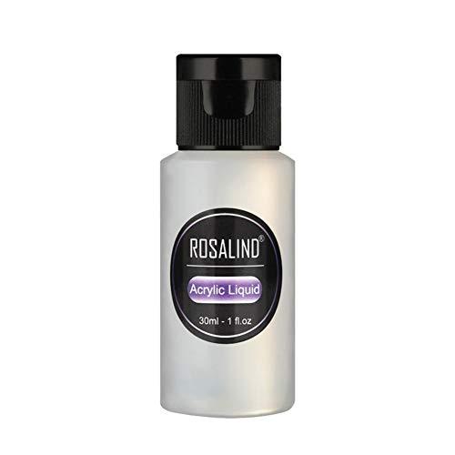 WXGY Acrylic Liquid Professional Nail Acrylic Liquid - 30ml / 1fl.oz Liquid Monomer Acrylic Nail System (30ml, 1 Bottle)