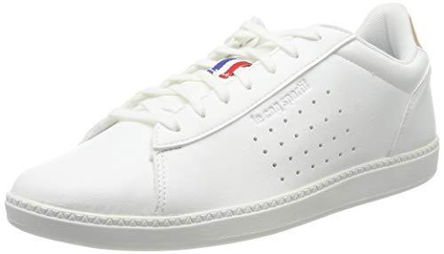 le coq Sportif COURTSTAR Craft, Sneaker Uomo, Bianco Optical White Croissant Optical White Croissant, 42 EU
