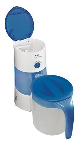 Lowest Price! Mr. Coffee 3-Quart Iced Tea and Iced Coffee Maker, Blue (Renewed)
