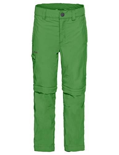 VAUDE Kids Detective ZO Pants II Pantalon Enfant Parrot Green FR: XXS (Taille Fabricant: 92)