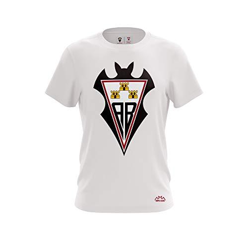 ALBACETE Camiseta TS Alba Escudo Blanca