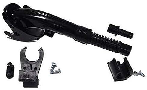 Arnold 6011-X1-2003 - Tubo vertidor para bidones de metal (longitud corta), color negro