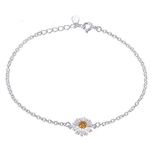 Fiauli Anillo de nudillo cómodo patrón de flores anillo de dedo anillo de oro placa collar de encanto agradable a la piel conjuntos de joyas accesorios para mujeres niña regalo - pulsera