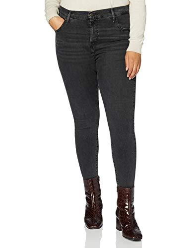 Levi's Plus Size Damen 720 Pl Hirise Super Skny Jeans, Smoked Out Plus, 16 L