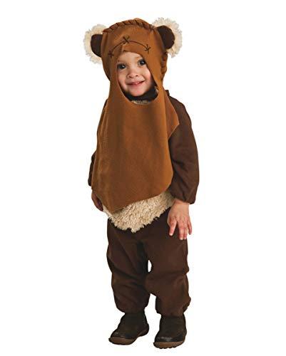 Horror-Shop Ewok Kleinkinderkostüm als Original Star Wars Verkleidung für Halloween und Karneval Toddler