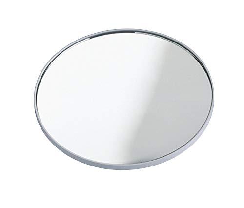 WENKO 3660010100 Kosmetikspiegel, 300% Vergrößerung, Kunststoff, 0.5 cm, Chrom