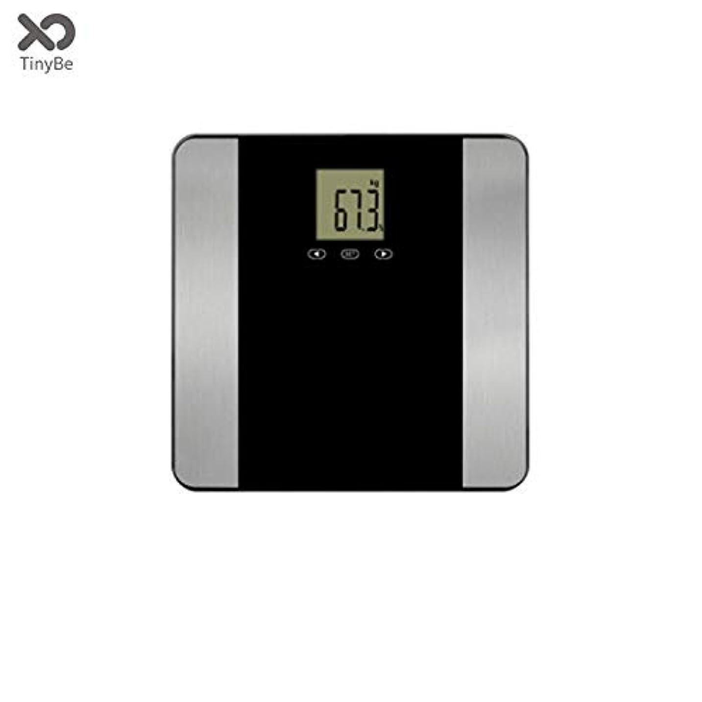 荷物ヘビー皿JXSHQS インテリジェントな人体は、カスタム最大重量180 kgスクリーン体脂肪重量スケール 体脂肪計