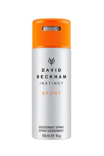David Beckham INSTINCT Sport Deo Body Spray – Deodorant für langanhaltende Frische & einen männlich-belebenden Duft nach jeder Anwendung – 1er Pack (1 x 150 ml)