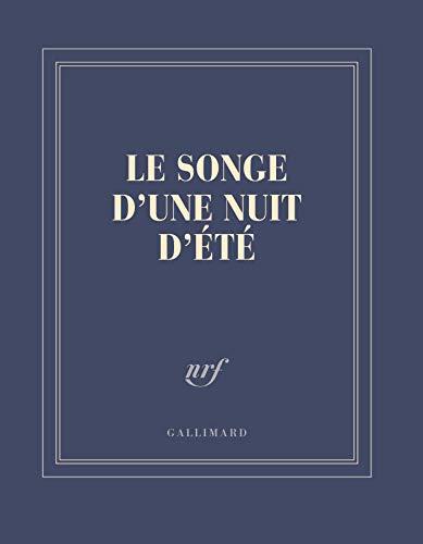 Carnet carré «Le Songe d'une nuit d'été» (papeterie)