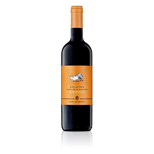 Morellino di Scansano DOCG Solatro Castelli del Grevepesa Castelgreve Vino Rosso italiano (1 bottiglia 75 cl.)